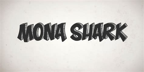free shark fonts mona shark font befonts com