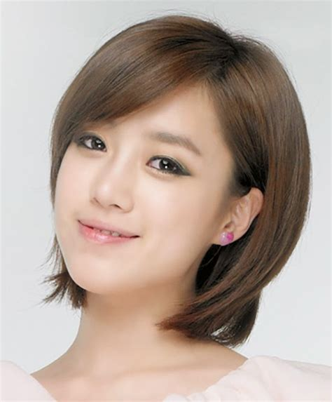 korean haircut for round face 2015 korean layered short hairstyles for women styles