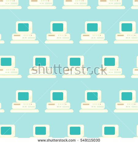 seamless pattern design software hand holding tablet financial graph stock vector 218984623