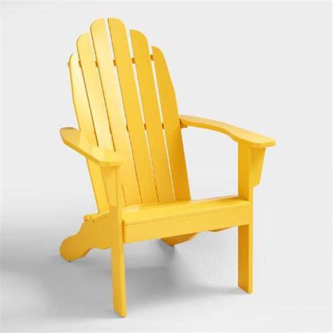 Adirondack Chairs World Market by Lemon Adirondack Chair World Market