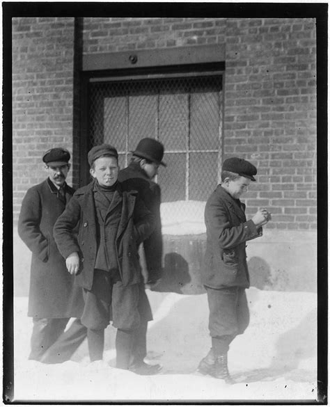 Schenectady Birth Records File Boys Going To Work In The American Locomotive Works Schenectady N Y Nara