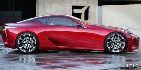 Lexus Lc500 Vs Lexus Lf Lc Concept Styling Faceoff