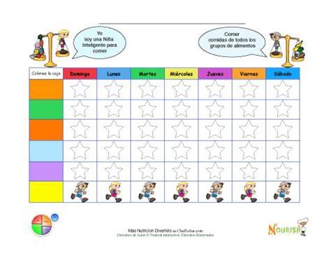 wellness chart and five day log imprimible hojas progreso metas saludables en blanco