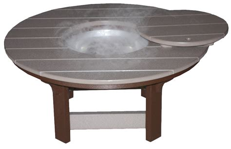 42 inch poly wood coffee table