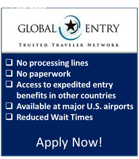 Global Entry Background Check About Global Entry U S Customs And Border Protection