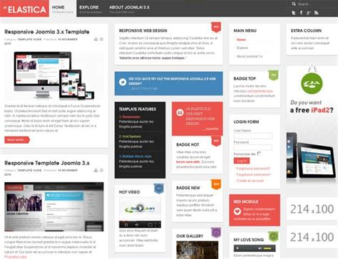 Free Joomla Templates 10 Opportunities For A Visual Makeover Joomla Accounting Template