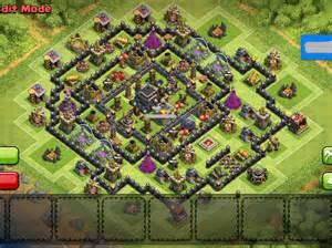 Anti hogs th9 war base and trophy base