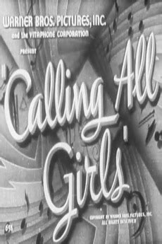Calling All Girls (1942) directed by Jean Negulesco