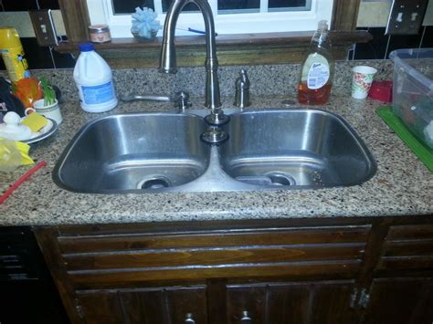 Plugged Kitchen Sink Clogged Kitchen Sink With Sitting Water Cookwithalocal Home And Space Decor How To