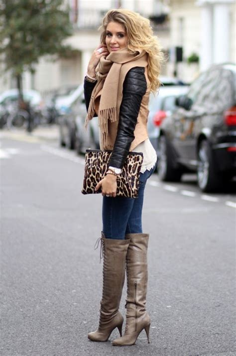 hot winter fashion for women 12 womens chic and warm winter outfits for 2016