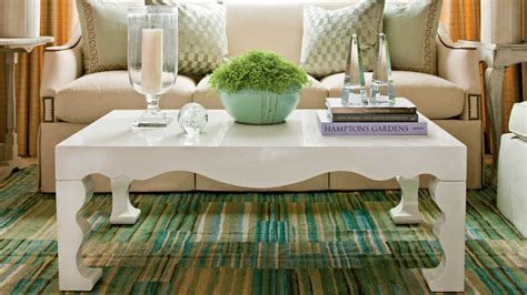 how to decorate a table how to decorate a coffee table southern living