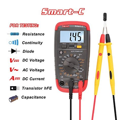 how to test a resistor with digital multimeter dmiotech digital multimeter multi tester capacitance test import it all
