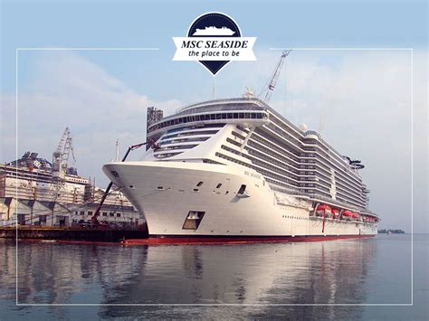 Wraparound Deck by Msc Seaside Delivered To Msc Cruises Cruise Cotterill