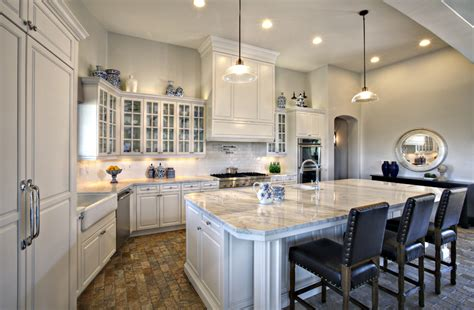 luxury scottsdale kitchen remodels with black faux leather