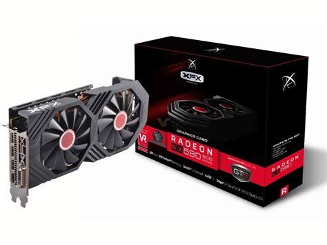 Komputer Xfx Radeon Rx 580 4gb Ddr5 Gts Oc Dual Fan xfx radeon rx 580 8gb gts black edition videocardz net