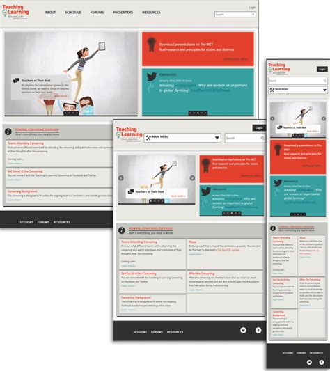 design a case study layout gates foundation case study in responsive design