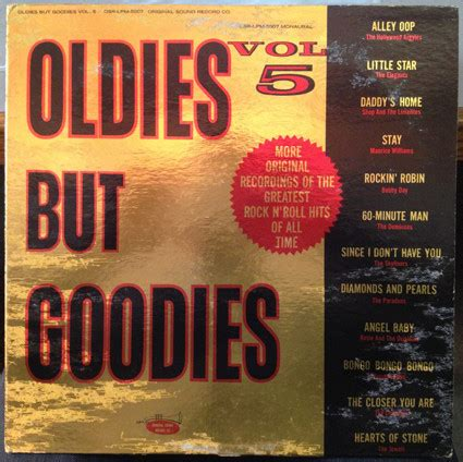 Rosie Souund And Friends A1 various oldies but goodies vol 5 vinyl lp album at