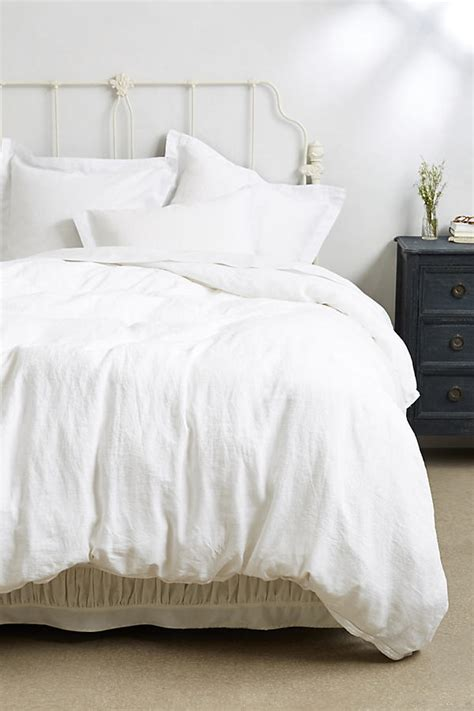 washed linen bedding soft washed linen duvet anthropologie