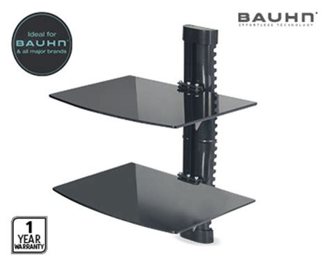 swing arm shelf swing arm tv mount bracket or dual wall mountable dvd