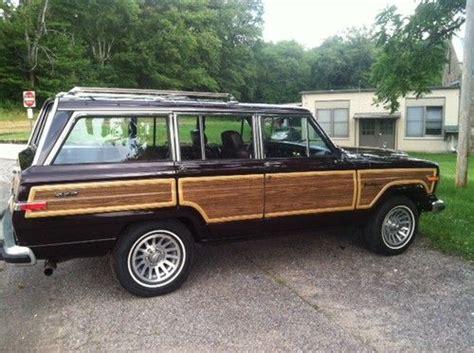 Jeep Wagoneer Woody Purchase Used Jeep Grand Wagoneer Woody All Original New