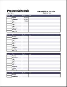 Schedule Timeline Template by Business Project Schedule Timeline Templates Excel