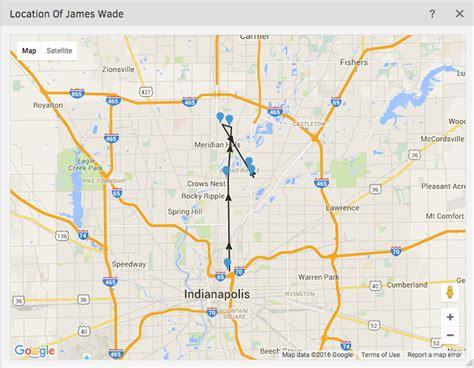 map with gps tracker map with gps tracker
