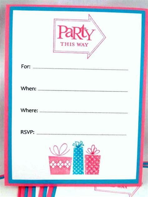 Celebration Of Cards Templates Free by Free Printable Birthday Invitations Ideas Blank Card