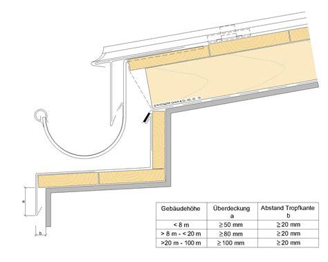 Gesims Dach by Konstruktionsbeispiele