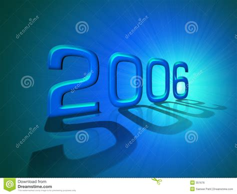 new year in 2006 happy new year 2006 royalty free stock image image 351676