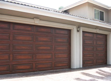Garage Door Faux Wood Garage Doors More Showcase Beams