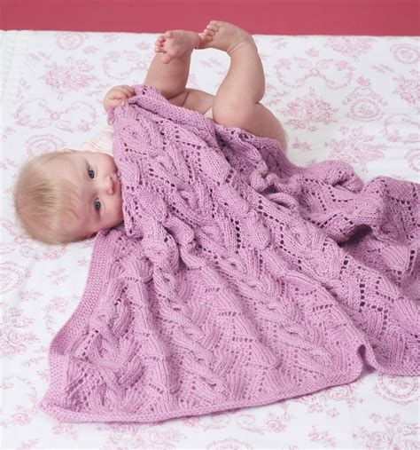 Pattern For Baby Blanket Knitting by Awww Some Baby Blanket Knitting Patterns In The Loop