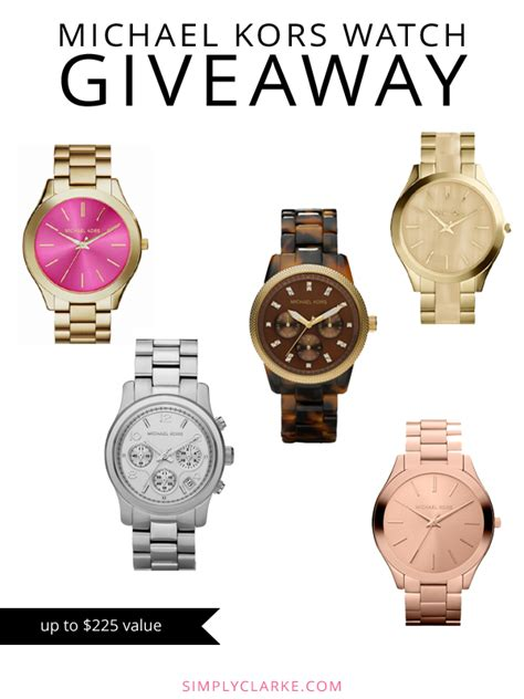 Michaels Giveaway - the southern thing michael kors watch giveaway