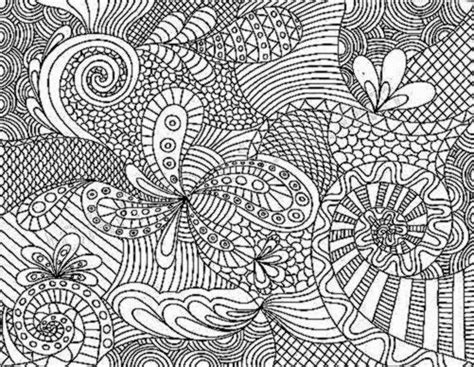 free coloring pages of zentangle