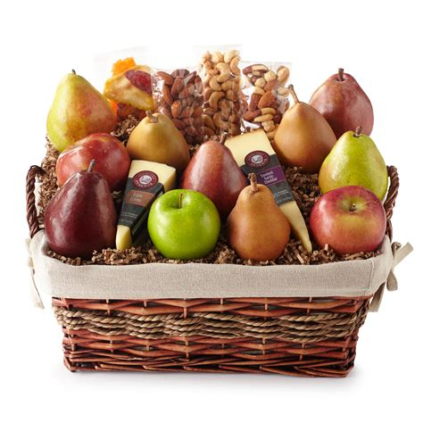 fruit and nut baskets hickory farms reserve fresh from the farm basket hickory