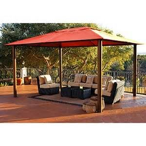 10x13 Pomeroy Domed Top Gazebo by Patio Lawn Garden Patio Furniture Accessories Umbrellas