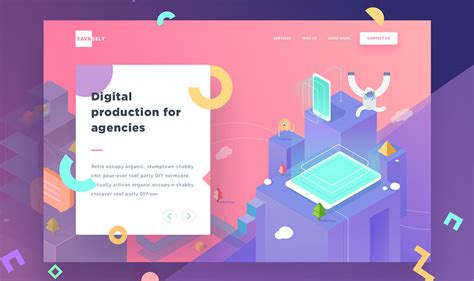 homepage design trends web design trends for 2018 digital agency wecreate