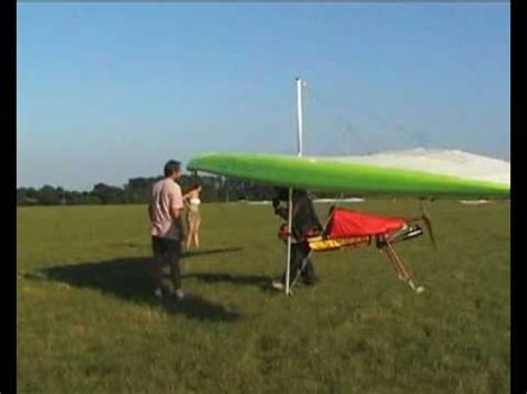 doodlebug glider flphg powered hang glider 2004 colin flylight doodlebug