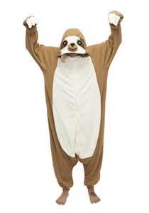 Squirrel Halloween Costume Sloth Kigu Kigurumi Animal Onesies