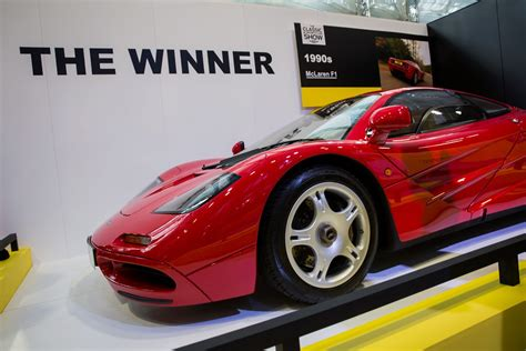 mclaren f1 seats mclaren f1 selected as greatest supercar classic