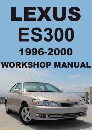 lexus es300 ls400 sc400 repair manuals workshop manuals service manuals download pdf lexus gs300 1998 2004 workshop manual car manuals direct