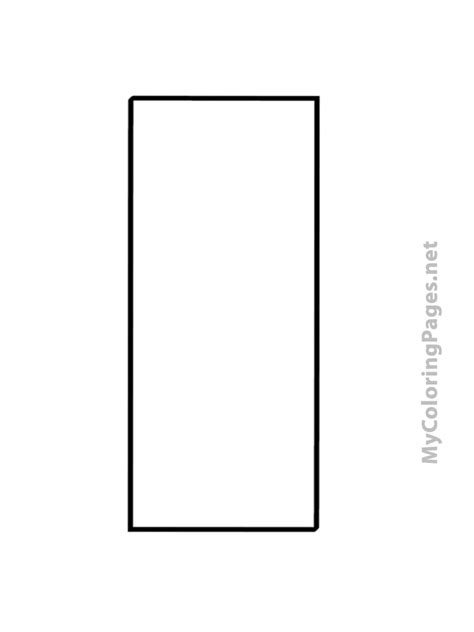 rectangle card template 8 best images of rectangle printable free