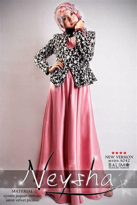 Dress Pesta Quine By Ayyanameena balimo neysha 5 baby pink baju muslim gamis modern