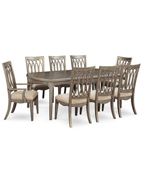 Kelly Ripa Home Hayley 9 Pc. Dining Set (Dining Table, 6