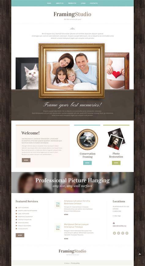Photo Studio Responsive Website Template 49385 Studio Website Template