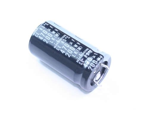 nichicon electrolytic capacitor 120 uf 200v llk2d471mhlz nichicon capacitor 470uf 200v aluminum electrolytic snap in 2020031473