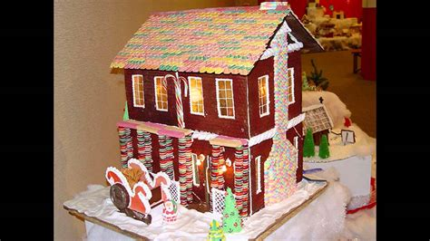 cool gingerbread houses cool gingerbread house decorating ideas youtube