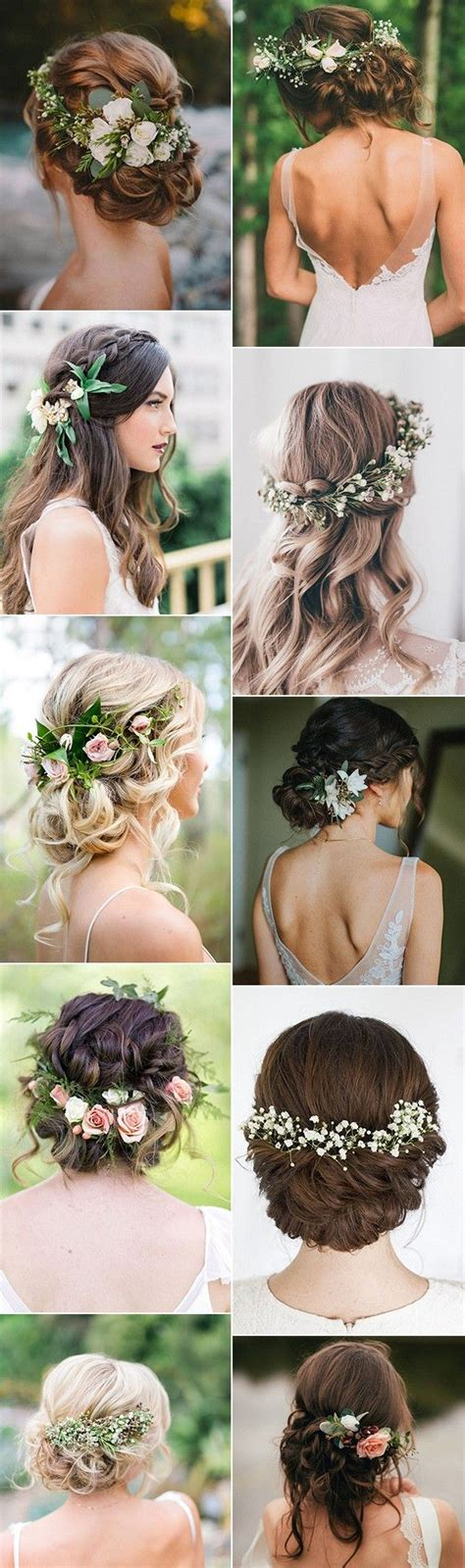 Wedding Hairstyles With Jewels by Wedding Hair With Flowers Jewels Trending Bridal