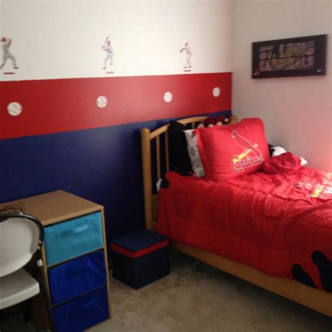 st louis cardinals bedroom pin by katie ward on decor pinterest