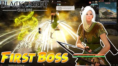 black desert online indonesia boss pertama black desert online sea cbt gameplay