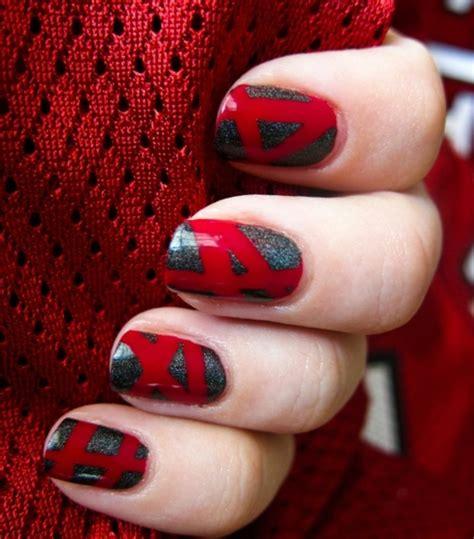 Graue N Gel by Nageldesigns In Rot 73 Inspirierende Ideen F 252 R Ihr